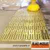 Vancouver Island Waterjet brass cutting