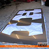 Vancouver Island Waterjet cutting  for sign maker