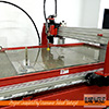 Vancouver Island Waterjet metal cutting 3 inch