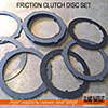 Vancouver Island Waterjet friction material cutting for clutch disc set